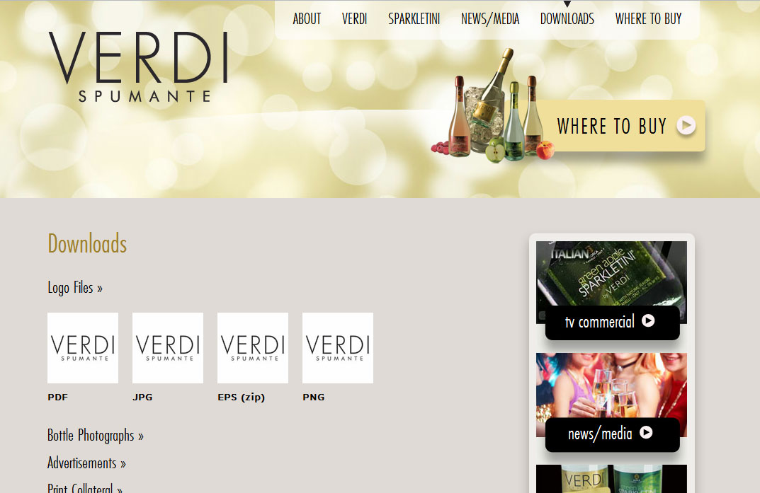 WordPress Theme Development Verdi Spumante