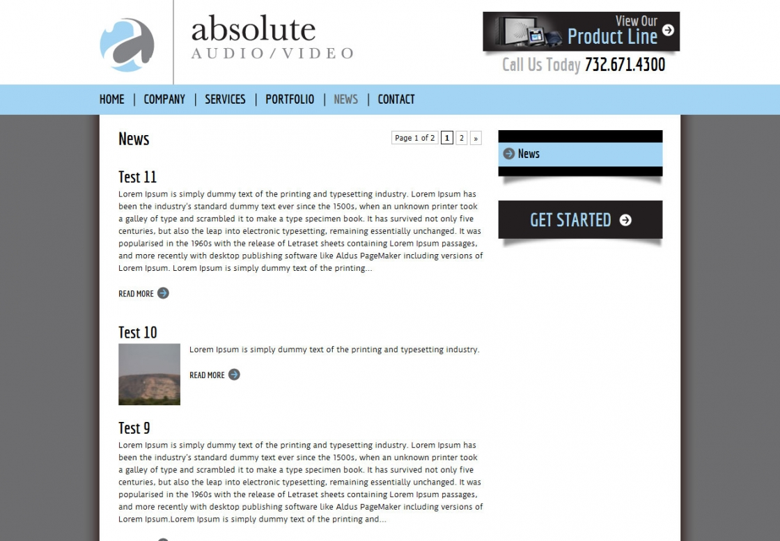 WordPress Development Absolute AV