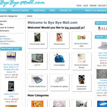 ZenCart Development Bye Bye Mall