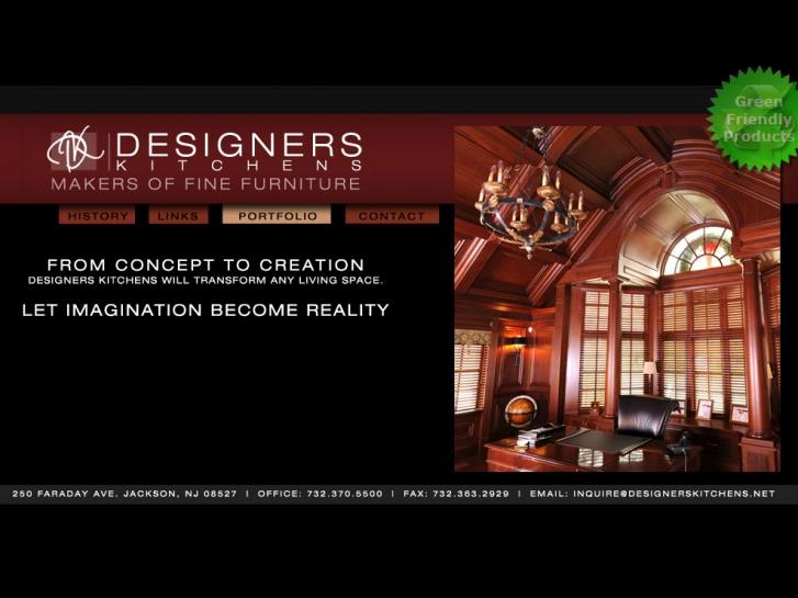 HTML Development Designers Kitchens