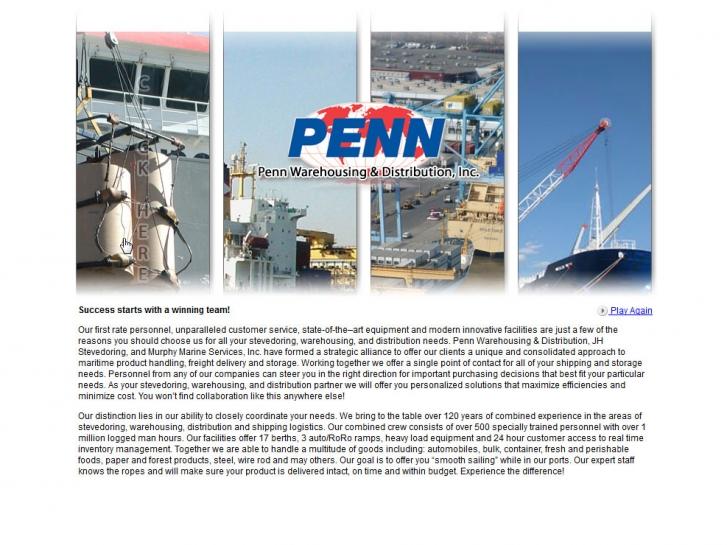 Concrete 5 Theme Development Pennwarehousing